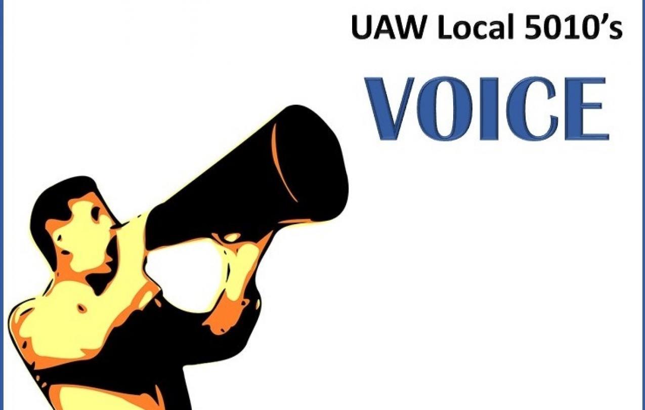 UAW Local 5010 September Newsletter