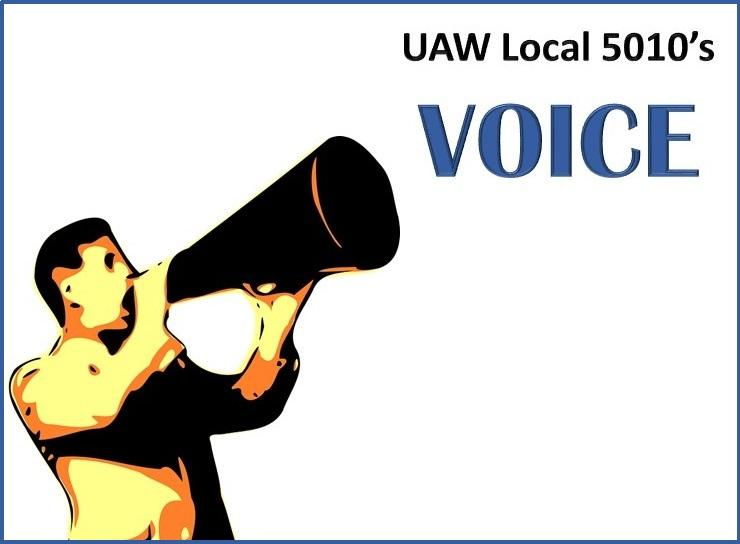 UAW Local 5010 September Newsletter